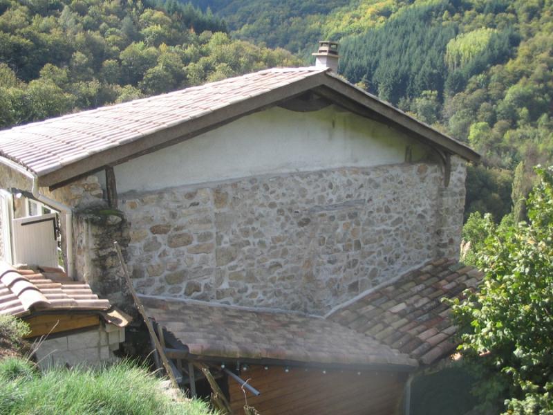 Gros uvre fa ade en pierre dans le vaucluse alain for Agrandissement maison 22