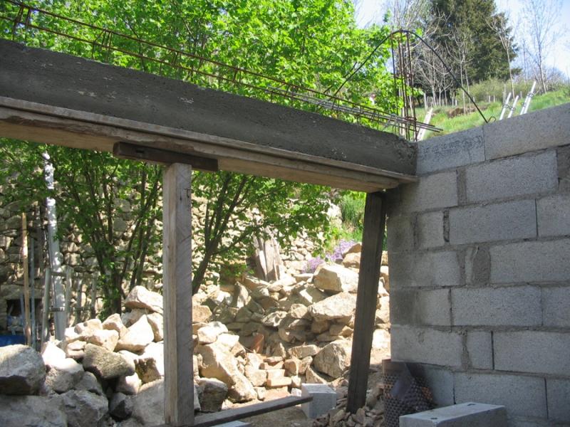 Gros uvre fa ade en pierre dans le vaucluse alain for Agrandissement maison 77