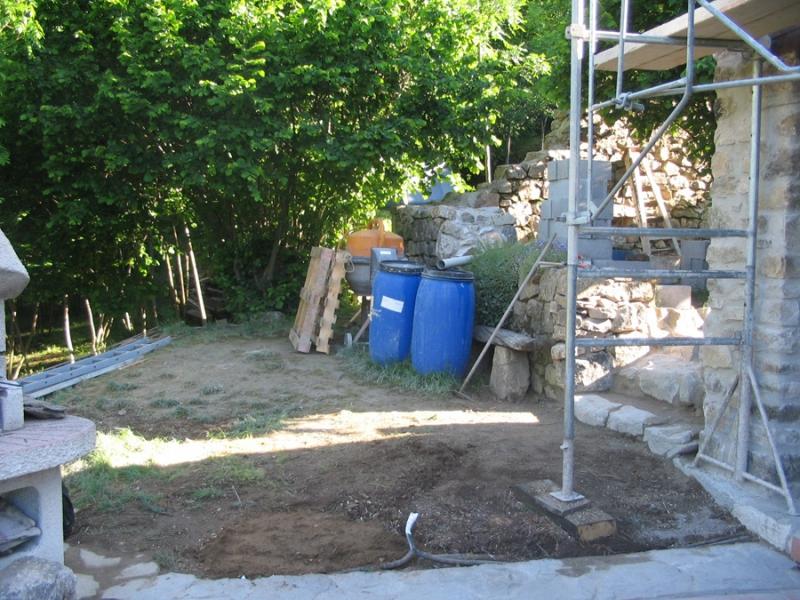 Gros uvre fa ade en pierre dans le vaucluse alain for Agrandissement maison 28