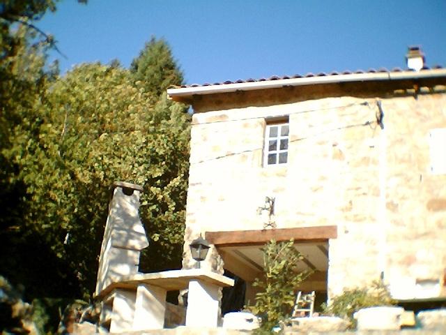 Gros uvre fa ade en pierre dans le vaucluse alain for Agrandissement maison 53