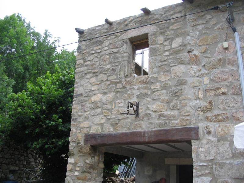 Gros uvre fa ade en pierre dans le vaucluse alain for Agrandissement maison 49